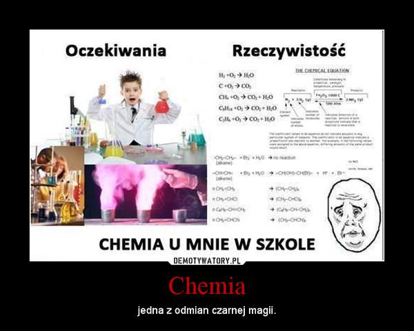 Chemia w szkole, jak to jest naprawdę