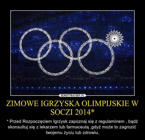 Olimpijskie Igrzyska Zimowe Zimowe Igrzyska Olimpijskie w