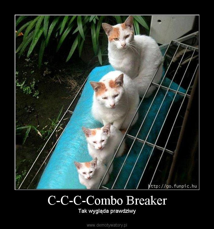 C-C-C-Combo Breaker - Tak wygląda prawdziwy