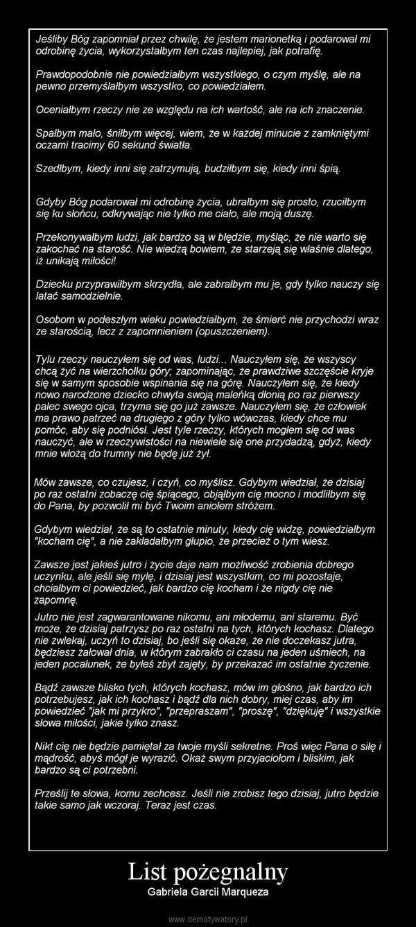 List Pozegnalny Demotywatory Pl