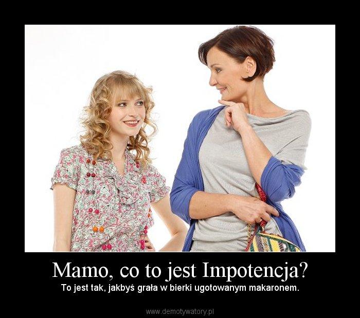 co to jest impotencja