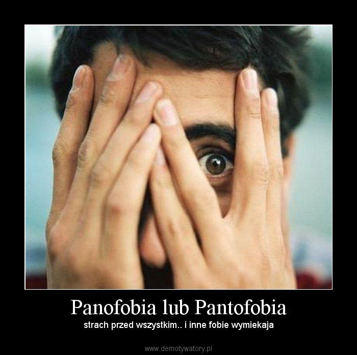 Panofobia Lub Pantofobia Demotywatory Pl