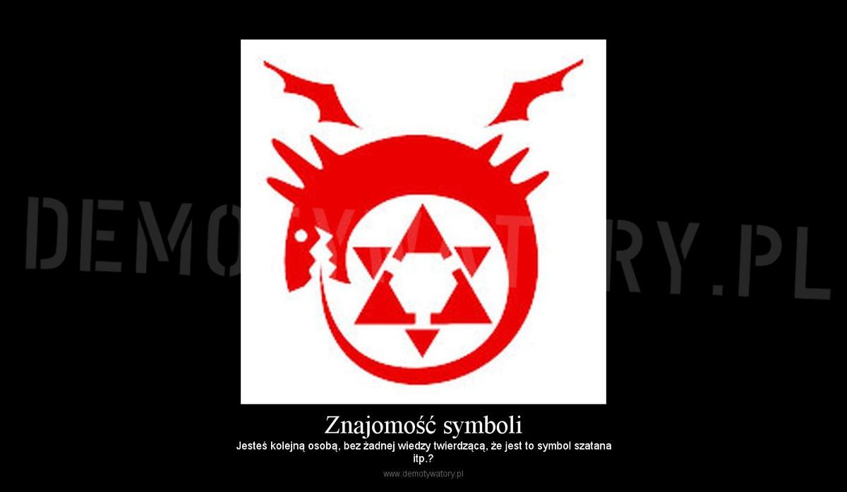 Znajomość Symboli Demotywatorypl