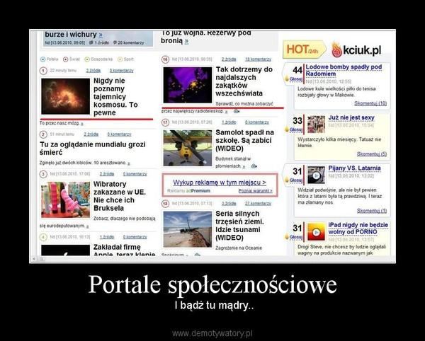 Portale społecznościowe online