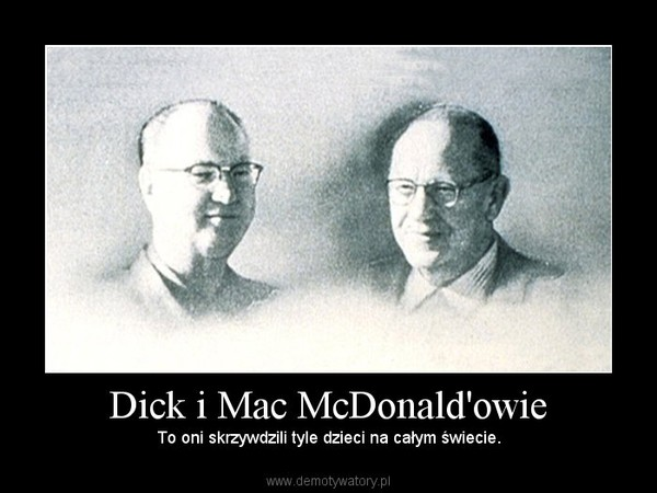 Dick Mcdonalds 85