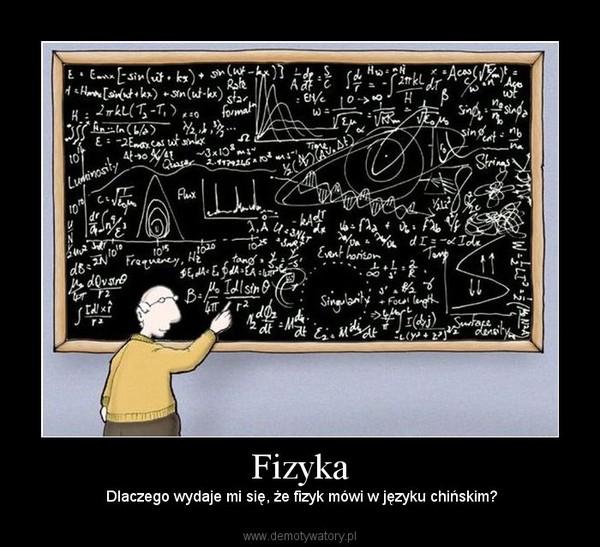 Znalezione obrazy dla zapytania fizyka