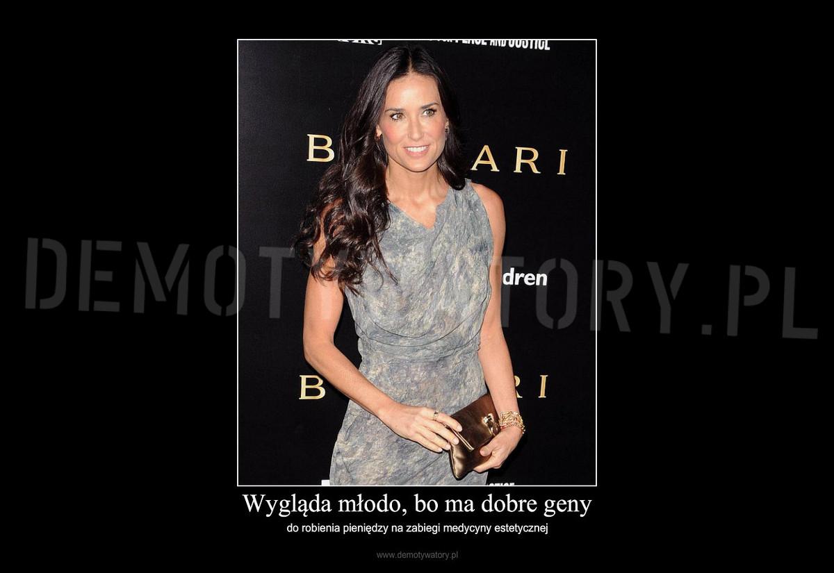 b2ee90ae0d9788 Wygląda młodo, bo ma dobre geny – Demotywatory.pl