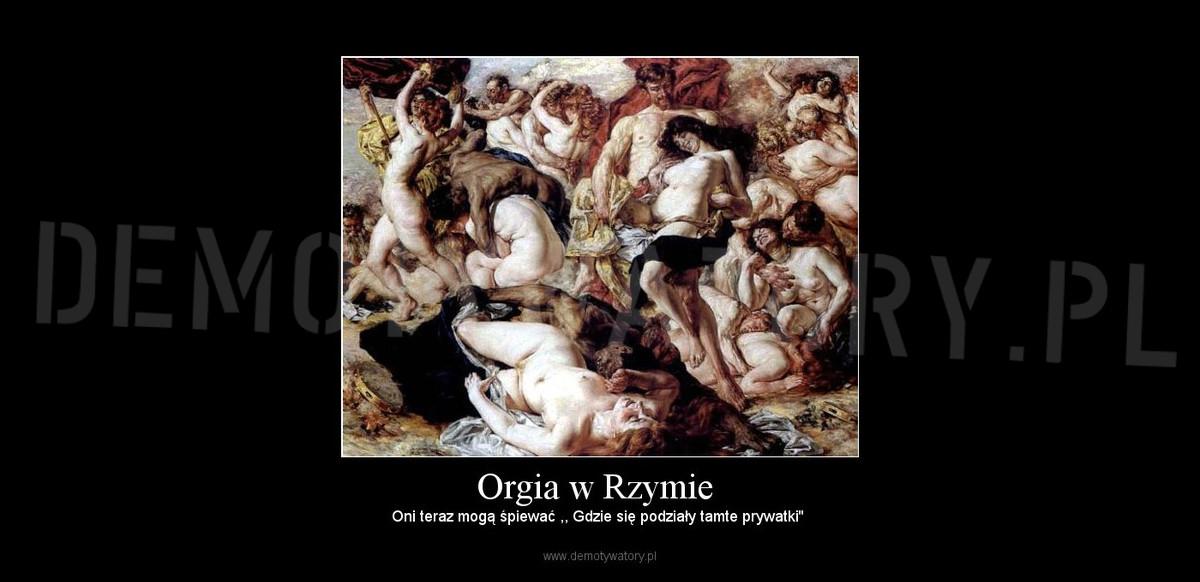 Zdjęcia rzymskiej orgii
