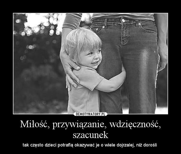 Znalezione obrazy dla zapytania wdzięczność dzieci