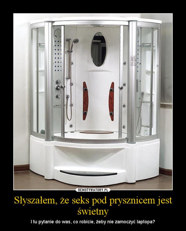 Sex dziewczyna pod prysznicem
