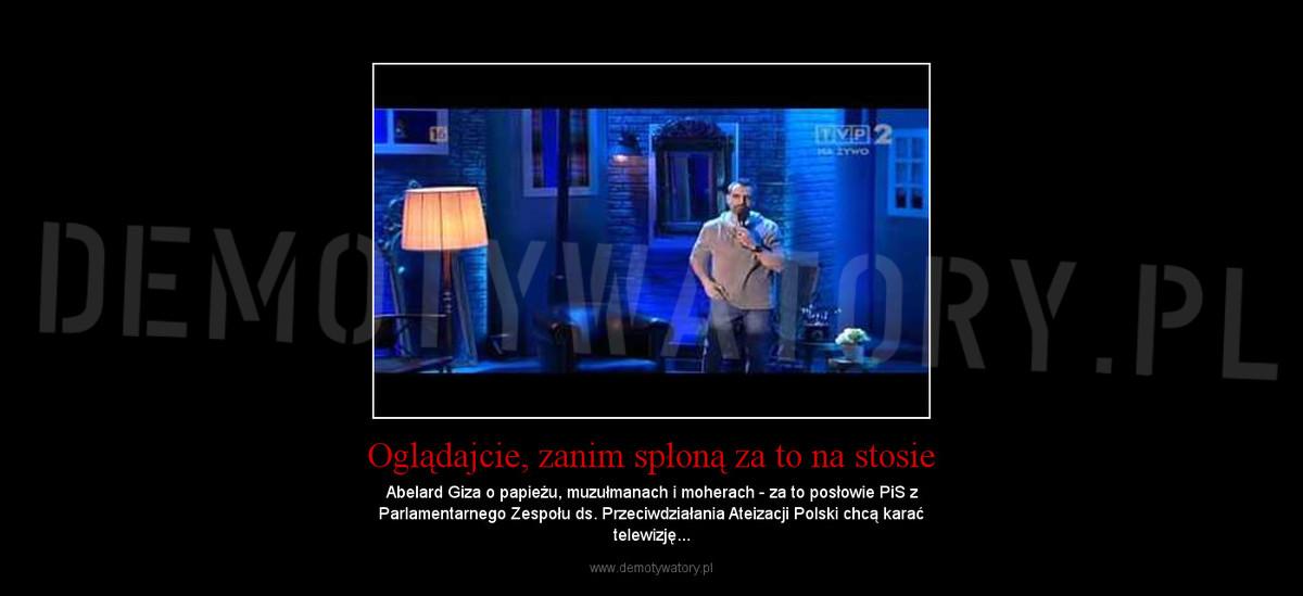 dd347e51 Oglądajcie, zanim spłoną za to na stosie – Demotywatory.pl