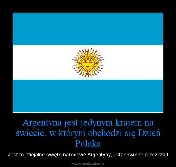 Argentyna dzień polaka