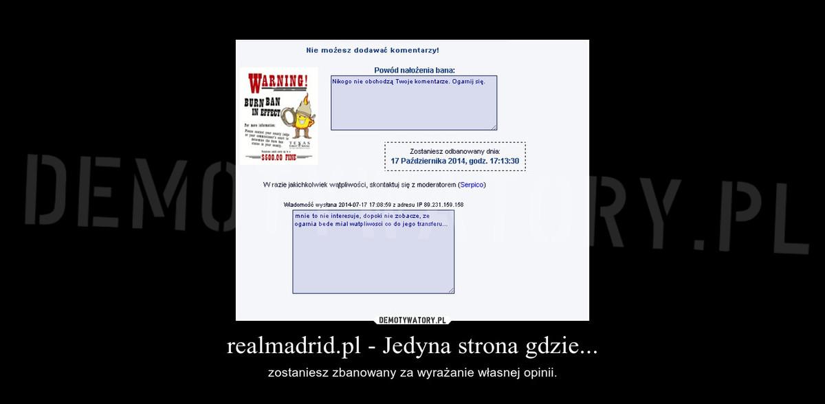 realmadrid pl - Jedyna strona gdzie    – Demotywatory pl
