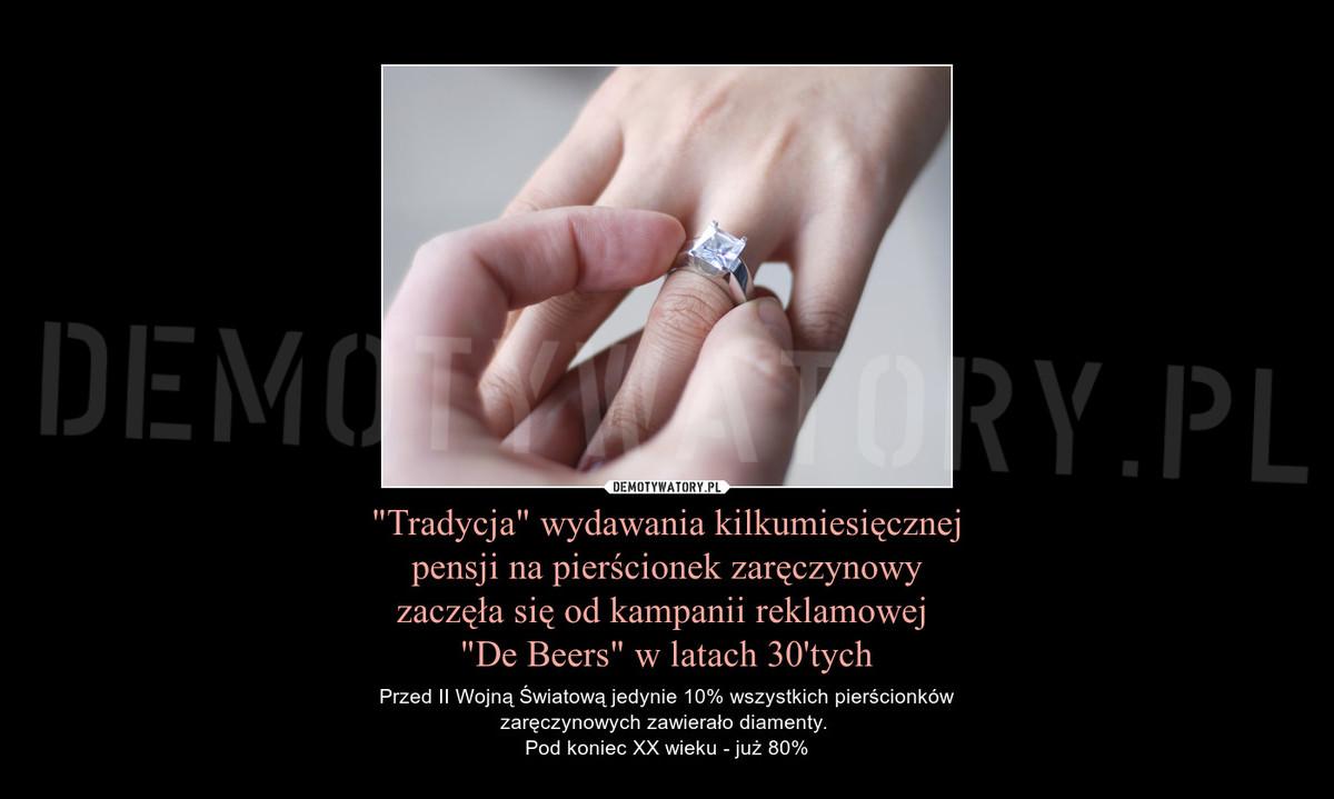 Trzy pensje na pierścionek zaręczynowy? Dla niektórych bez