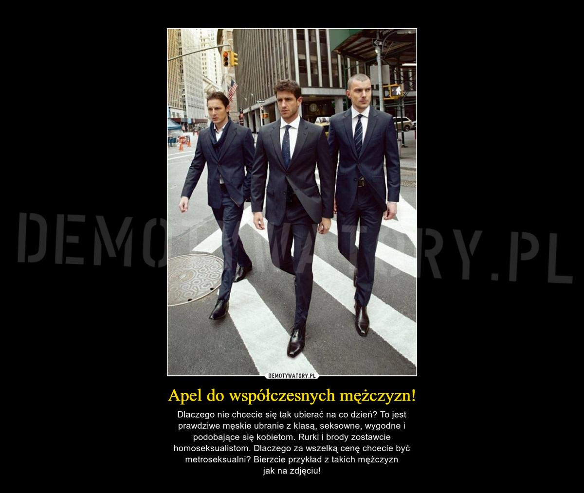 58af7e6d Apel do współczesnych mężczyzn! – Demotywatory.pl