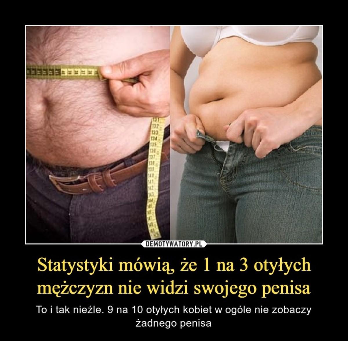 otyłość i penisa