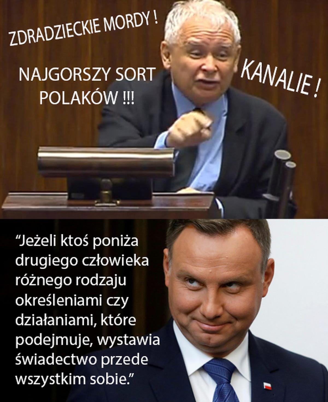 Trafne słowa prezydenta – Demotywatory.pl