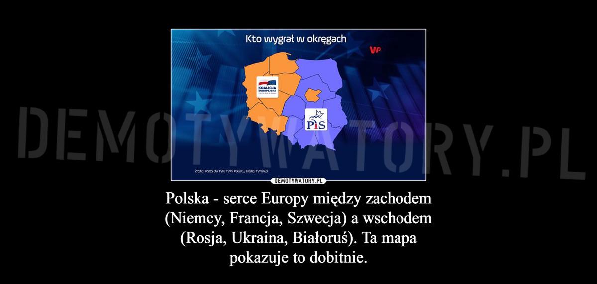 Polska Serce Europy Miedzy Zachodem Niemcy Francja Szwecja A